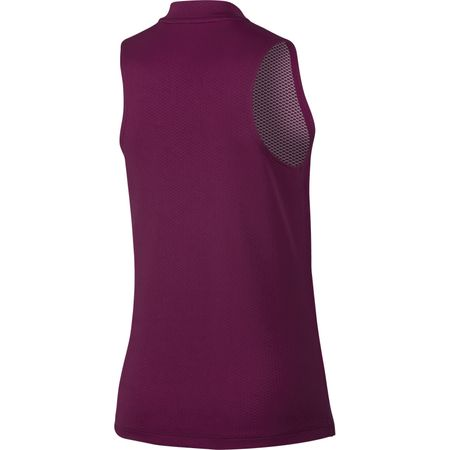 Golf undefined Sleeveless Blade Zip Neck Polo made by Nike Golf