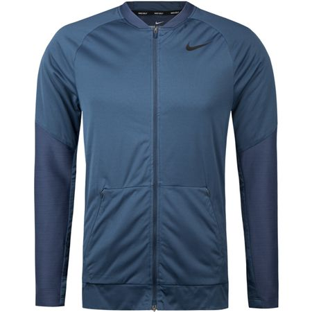 Golf undefined Aerolayer Full Zip Jacket Thunder Blue - SS18 made by Nike