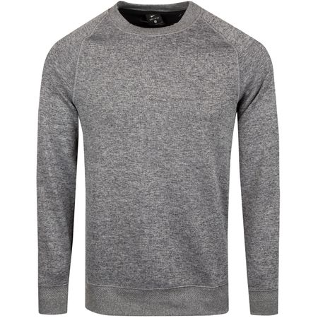 Golf undefined Dry-Fit Crew Sweater Charcoal Heather - SS19 made by Nike Golf