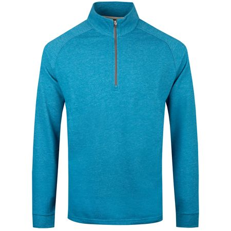 Golf undefined Natural Hand Quarter Zip Eclipse Heather - SS19 made by Dunning
