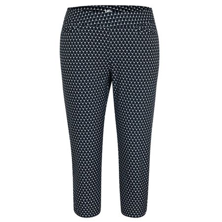 Golf undefined 360 by Tail Diamond Mesh Pull-On Capri made by Tail Activewear