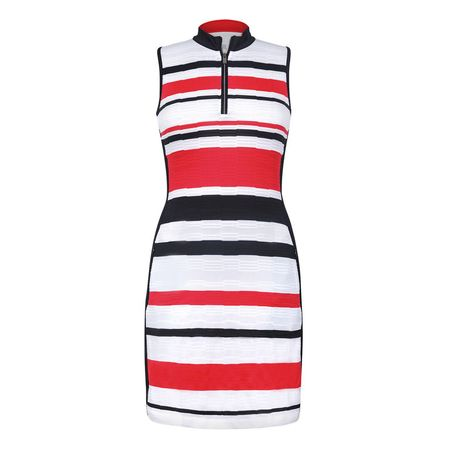 Golf undefined Tail Jade Stripe Jacquard Dress made by Tail Activewear