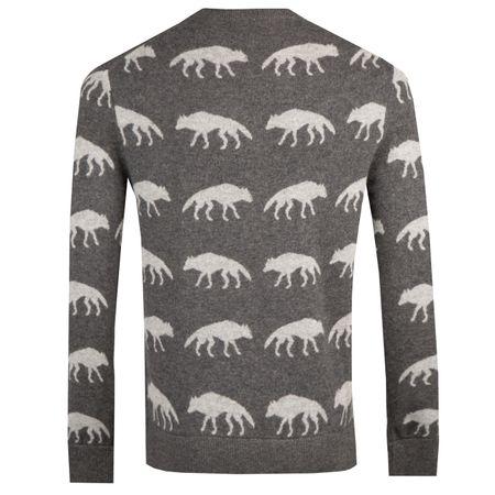 Golf undefined Alpha Wolf Crewneck Sweater Grey Heather - AW18 made by Greyson