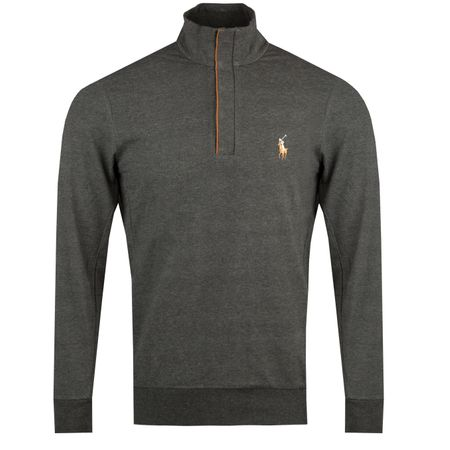 Golf undefined Fine Gauge Terry Half Zip Avery Heather - AW18 made by Polo Ralph Lauren