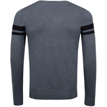Golf undefined Joel Wool Coolmax Dark Grey Melange - AW18 made by J.Lindeberg