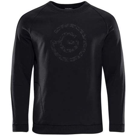 Golf undefined E-Insula GG Logo Sweater Black - AW18 made by Galvin Green