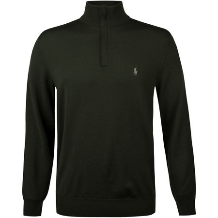 Golf undefined Merino Quarter Zip Spanish Olive made by Polo Ralph Lauren
