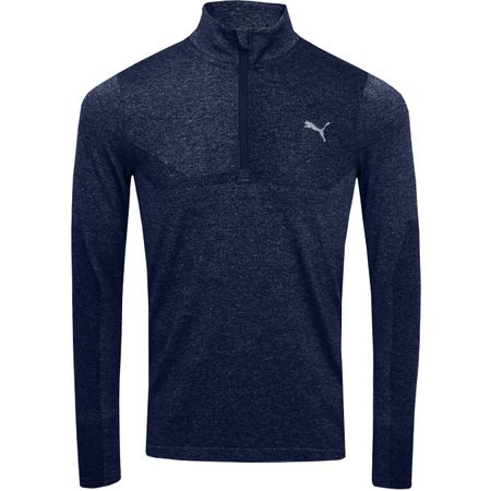 Golf undefined Evoknit Quarter Zip Peacoat Heather - SS19 made by Puma Golf