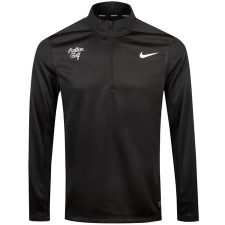 MidLayer x Nike Dry Core Half Zip Pullover Black - 2018 Malbon Golf Picture