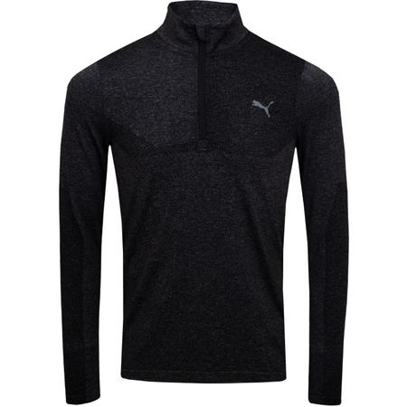 Golf undefined Evoknit Quarter Zip Puma Black Heather - SS19 made by Puma Golf