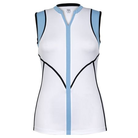 Golf undefined Into Blues - Joslyn Top made by Tail Activewear