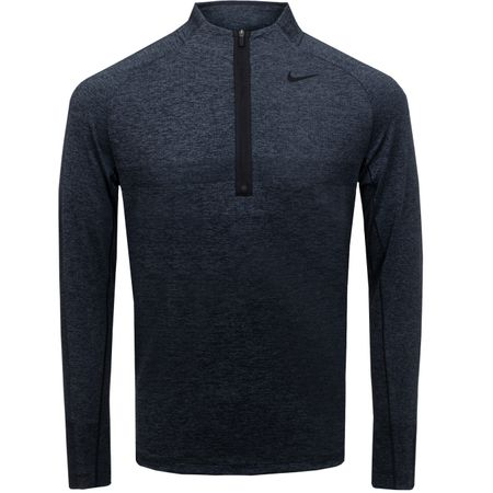 Golf undefined Statement Dry Half Zip Top Black/Dark Grey - SS19 made by Nike Golf