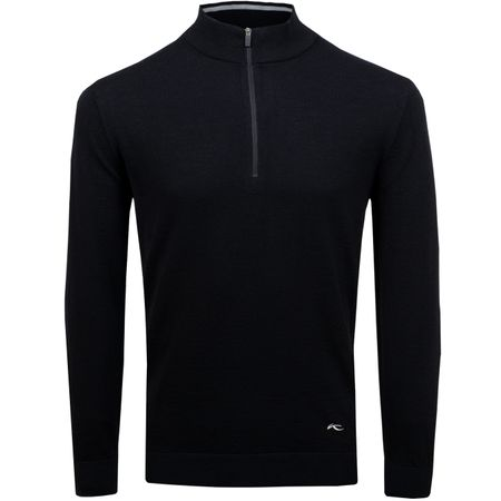 Golf undefined Kenan Half Zip Pullover Black - AW18 made by Kjus