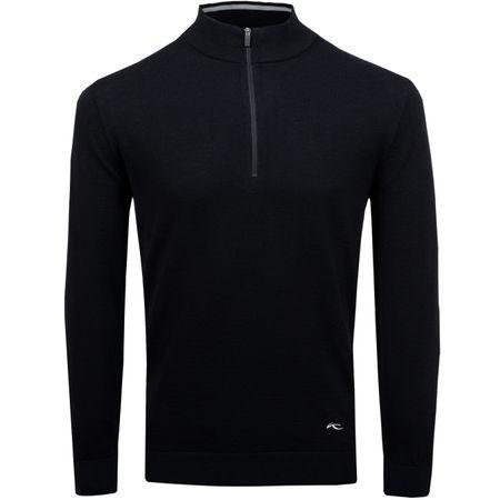 MidLayer Kenan Half Zip Pullover Black - AW18 Kjus Picture