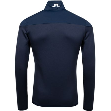 Golf undefined Hubbard Quarter Zip Mid Jacket Structured JL Navy - 2019 made by J.Lindeberg