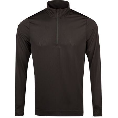 MidLayer Essential Evoknit Quarter Zip Puma Black - AW18 Puma Golf Picture