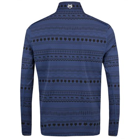 Golf undefined Tate Printed Mockneck Blue Spiritchaser - AW18 made by Greyson