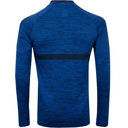 Golf undefined Dry Top Half Zip Mid Layer Gym Blue/Obsidian - AW18 made by Nike Golf