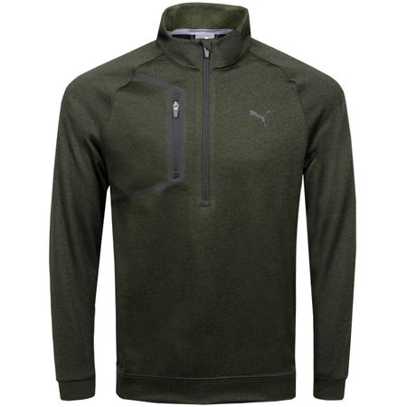 MidLayer Envoy Quarter Zip Forest Night - AW18 Puma Golf Picture