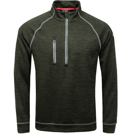 Golf undefined PWRWARM Elevated Quarter Zip Forest Night - AW18 made by Puma Golf