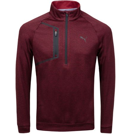 Golf undefined Envoy Quarter Zip Pomegranate - AW18 made by Puma Golf
