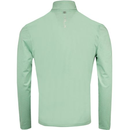 MidLayer Brushback Tech Jersey Celadon Heather - AW18 Polo Ralph Lauren Picture