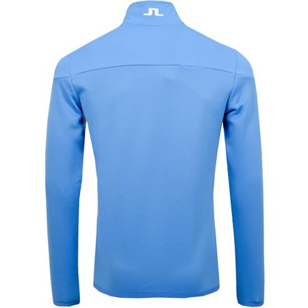 Golf undefined Hubbard Quarter Zip Mid Jacket Structured Silent Blue - 2019 made by J.Lindeberg