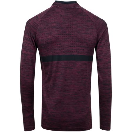 Golf undefined Dry Half Zip Mid Layer Burgundy Crush/Black - 2018 made by Nike