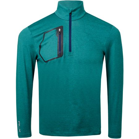 Golf undefined Brushback Tech Jersey Salisbury Green Heather - AW18 made by Polo Ralph Lauren