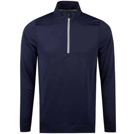 Golf undefined Essential Evoknit Quarter Zip Peacoat - AW18 made by Puma Golf