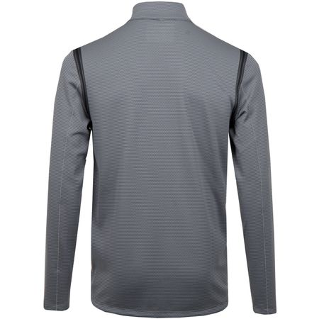 Golf undefined Aeroreact Half Zip Dark Grey made by Nike Golf