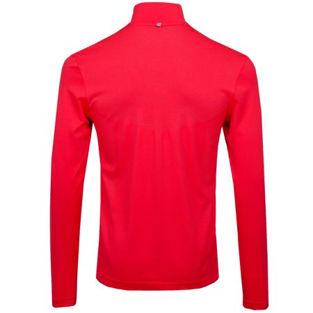 Golf undefined Dry Top Half ZIp Seamless Siren Red made by Nike