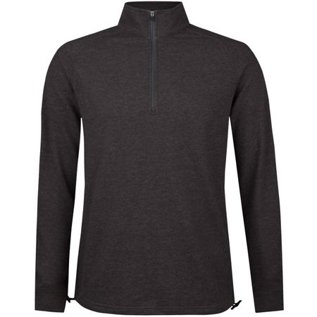 Golf undefined Natural Hand Quarter Zip Coffee Heather made by Dunning