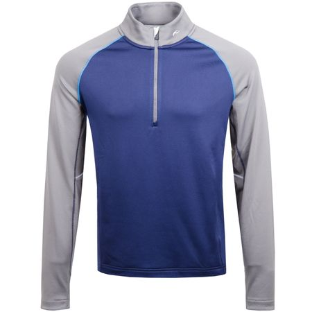 Golf undefined Diamond Fleece Half Zip Atlanta Blue made by Kjus