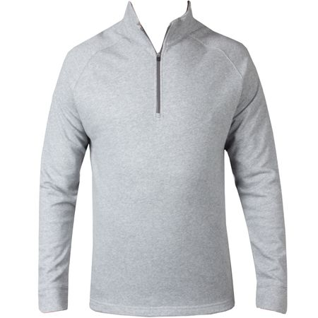 Golf undefined Natural Hand Quarter Zip Mid Grey Heather - 2019 made by Dunning
