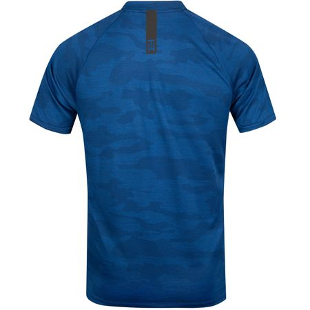 Golf undefined TW Vapor Zonal Cooling Camo Polo Gym Blue - SS19 made by Nike