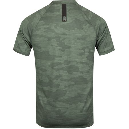 Golf undefined TW Vapor Zonal Cooling Camo Polo Clay Green - SS19 made by Nike