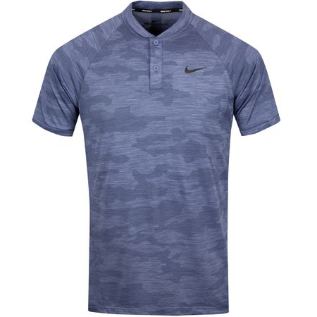 Golf undefined TW Vapor Zonal Cooling Camo Polo Purple Slate - SS19 made by Nike
