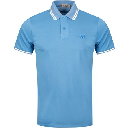 Golf undefined x TRENDYGOLF Tipped Polo Pacific Coast/Snow - 2019 made by G/FORE