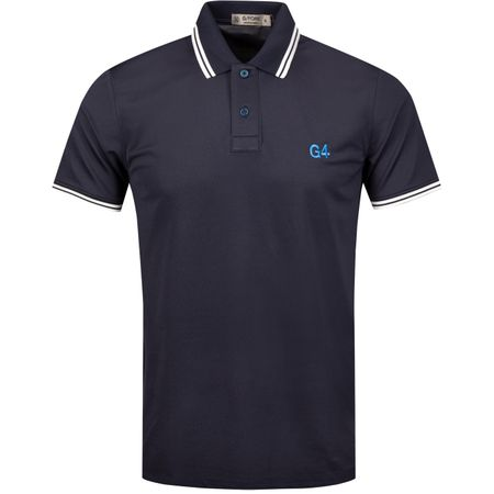 Golf undefined x TRENDYGOLF Tipped Polo Twilight/Snow - 2019 made by G/FORE