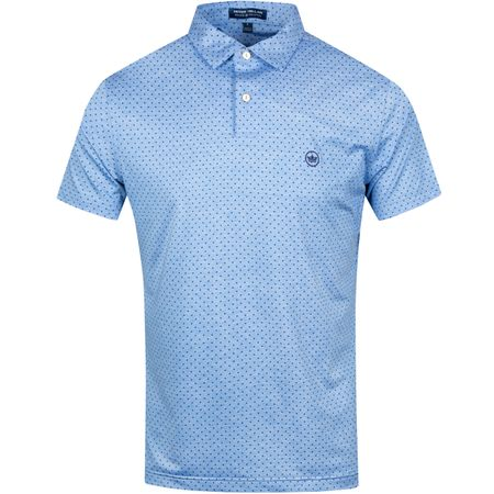 Golf undefined Count Printed Polka Dot Vessel - SS19 made by Peter Millar