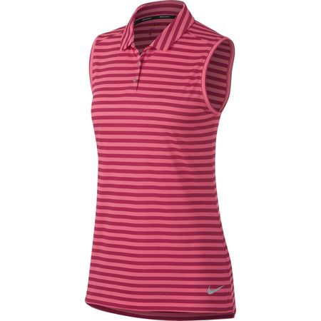Golf undefined Nike Women's Dry Sleeveless Golf Polo made by Nike