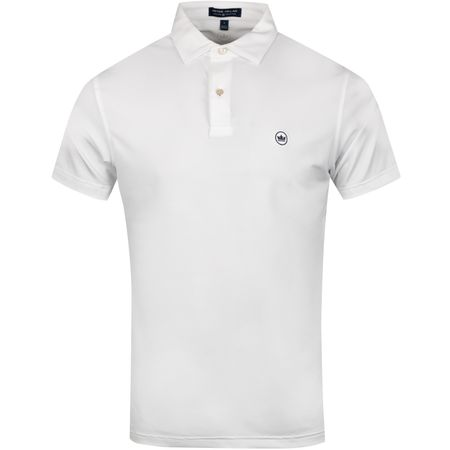 Polo Solid Jersey Tour Fit White - SS19 Peter Millar Picture