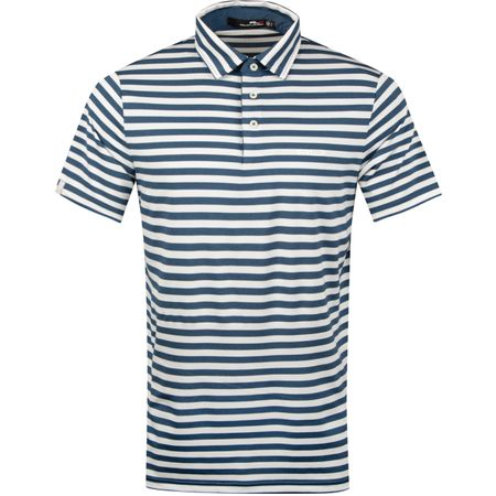 Golf undefined Lightweight Airflow Stripe Soft Royal Heather/White - SS19 made by Polo Ralph Lauren