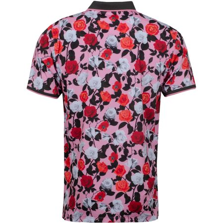 Golf undefined Roses Printed Polo Rose Violet - SS19 made by G/FORE