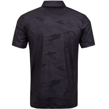 Polo Camo Embossed Polo Black Ink - SS19 G/FORE Picture