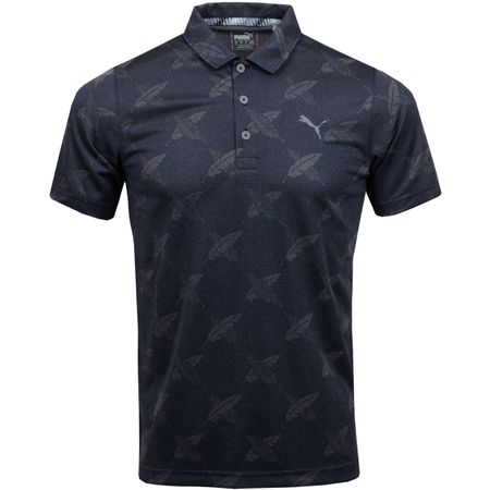 Golf undefined Alterknit Palms Polo Puma Black - SS19 made by Puma Golf