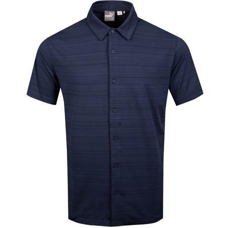 Golf undefined Breezer Shirt Peacoat - SS19 made by Puma Golf
