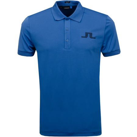 Golf undefined Big Bridge Regular Fit TX Jersey Work Blue - SS19 made by J.Lindeberg