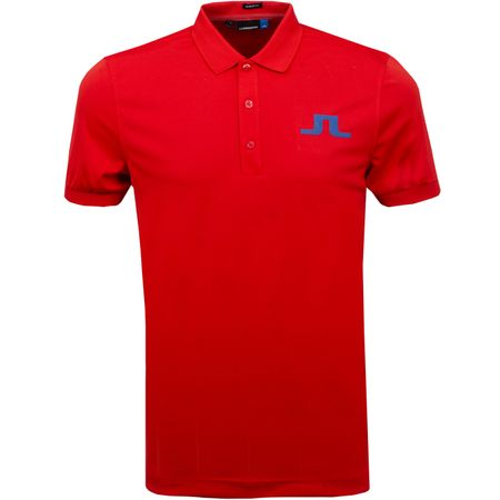Golf undefined Big Bridge Regular Fit TX Jersey Deep Red - SS19 made by J.Lindeberg